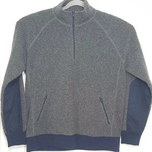 J.Crew Pullover Jacket Men's XL Gray Blue Sweater